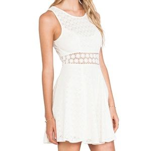 Free people Fitted with Daisies summer dress